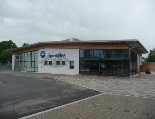 Neubau 2 1/2-fach Turnhalle in Waging am See