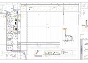 Turnhalle in Waging Plan