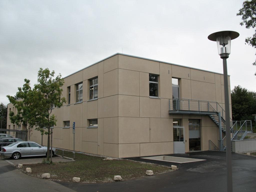 Gebäude Betontechnikum