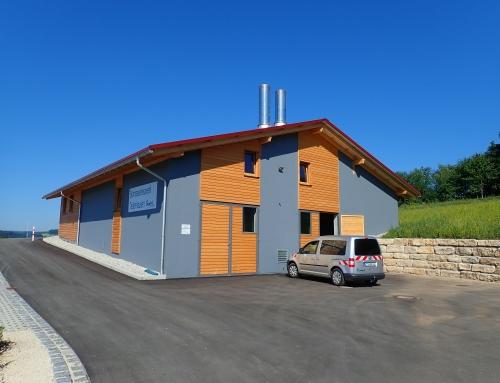 Biomasseheizwerk Tettenhausen
